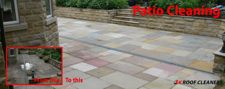 Patio Cleaning Leeds